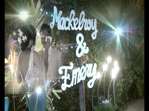 Heboh... Goyang Maumere di wedding party Mackelroy & Emery