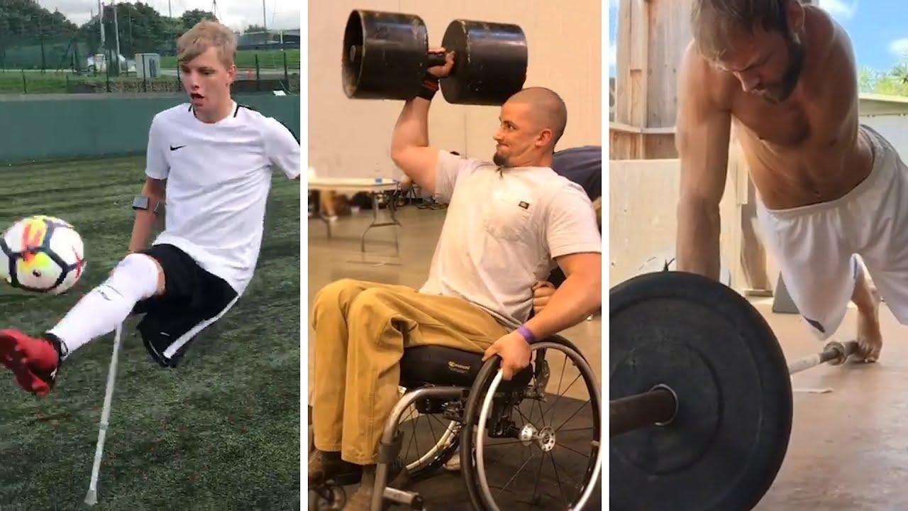 Inspiring Adaptive Athletes!  | People are Awesome