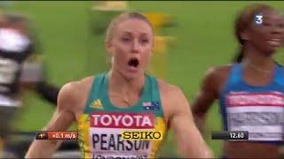 Mondiaux d'athlétisme : L'Australienne Sally Pearson en or sur 100 m haies !!