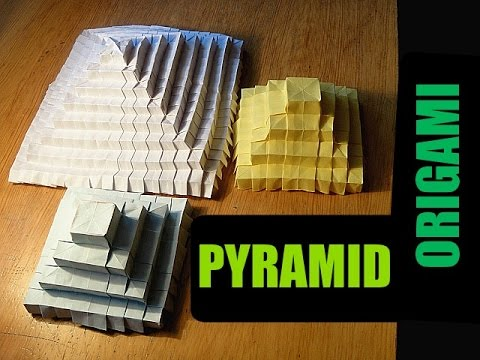 How To Make An Origami 3d Pyramid