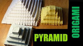 How to make an origami 3D Pyramid!