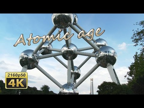 Atomium, Brussels - Belgium 4K Travel Channel
