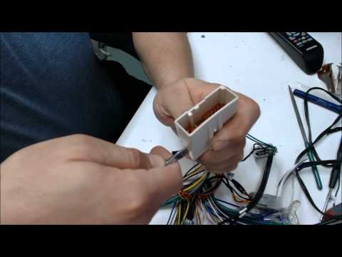 How to repin a connector or harness -the easy way-