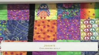 Joan's Children's, Quilt by Sandi