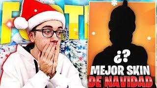 THE BEST CHRISTMAS SKIN IN FORTNITE 2018 - MrKeroro10