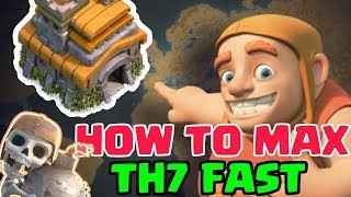 UPGRADE PRIORITY AT TOWN HALL 7 IN CLASH OF CLANS