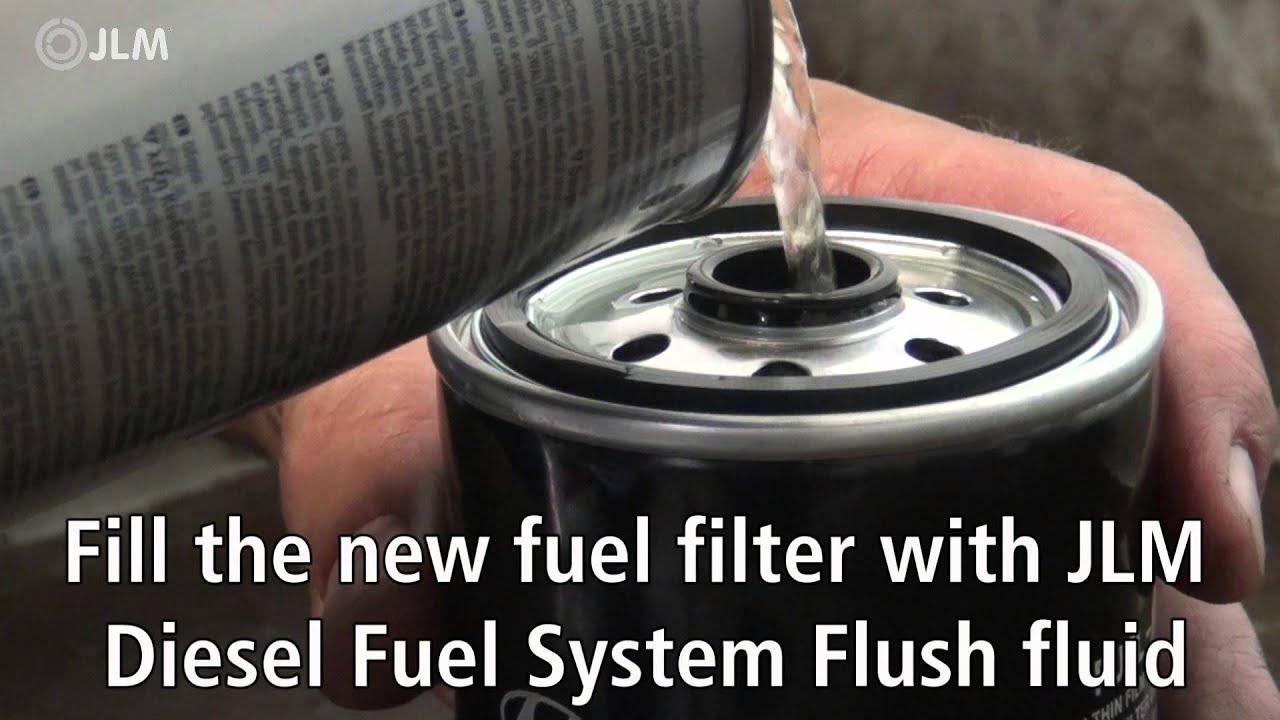 Jlm Diesel Fuel System Flush Instruction Video Eng Youtube