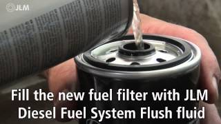 JLM Diesel Fuel System Flush, instruction video | ENG