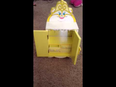 Disney Beauty And The Beast Vintage Jewelry Box YouTube