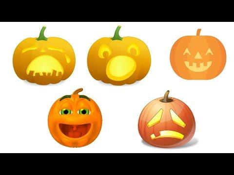 Five Little Pumpkins  Pumpkin Song Super Simple Songs for Kids