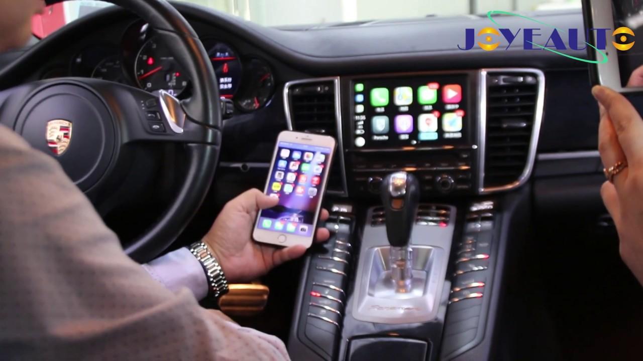 Wifi Wireless Apple Carplay Retrofit On Porsche Panamera 2012 Pcm3 1