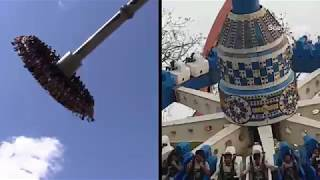 Kankaria lake Amrapali Amusement Park Crash a different look at the ride that failed July 2019