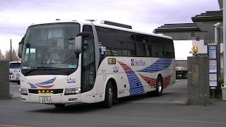 ★バス発車シーン⑨★ONライナー[京成バス]◆西武バス大宮営業所前◆2019/2/8