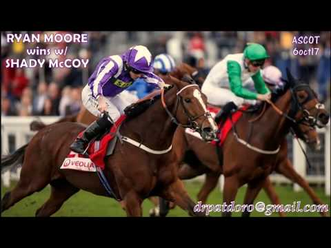 SHADY McCOY (USA) comes from behind to WIN @ASCOT 6oct17