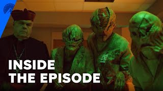 Evil | How A Real Experience Inspired David's Hellish Hospital Visit | Paramount+