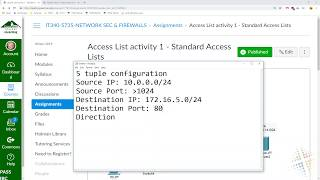 Access List Activity 1