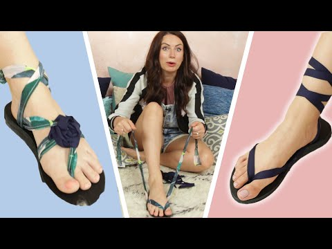 We Wore 1 Sandal 12 Different Ways
