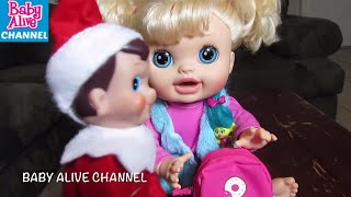 Baby Alive Doll Sophie talks to Elf about her Stealing from her fri...