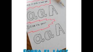 How to draw fonts! // Cómo dibujar tipos de letra