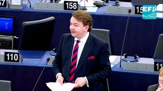 EU desperately trying to pass itself off as a State - Tim Aker MEP
