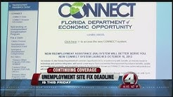 Florida hires 200 extra workers to staff taxed unemployment office
