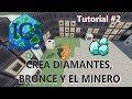 INDUSTRIAL CRAFT 2 1.12.2   CREAMOS DIAMANTES!! BRONCE Y EL MINERO - TUTORIAL #2   MINECRAFT MOD