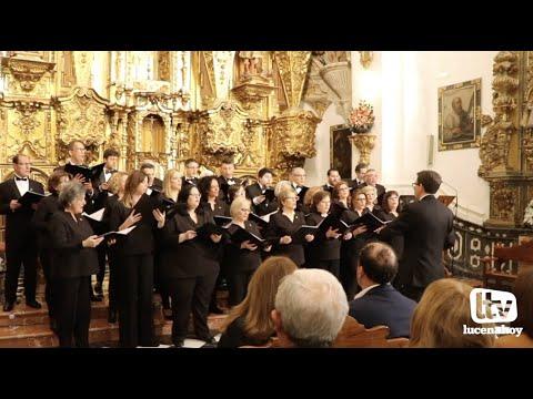 VÍDEO: La Coral Lucentina ofrecerá el domingo en el Auditorio su tradicional Concierto de Navidad