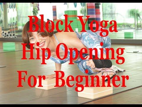 Yoga for beginner /hip opening with Block/BY Sandeep /Hanoi/Vietnam