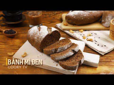 Bánh Mì Đen - Cách Làm Đúng Chuẩn Ngon Như Ngoài Tiệm   Cooky TV