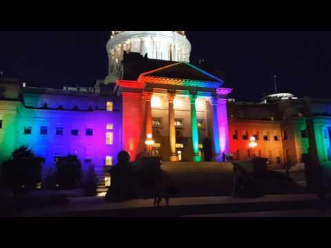 Idaho Capitol lights up for Boise Pridefest
