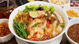 BÚN GỎI DÀ - Cách nấu Bún Gỏi Và hay Bún Gỏi Dà miền Tây thơm ngon by Vanh Khuyen