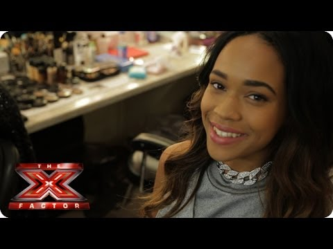 Get Tamera's natural look with Julia Carta - X Factor Make Up Room - The X Factor UK 2013