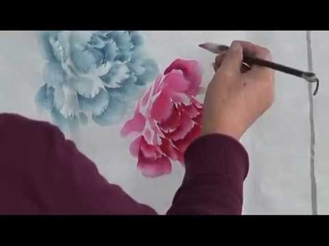 Chinese brush painting - Peony Painting