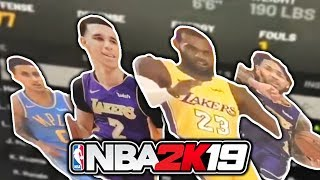 ALL Lakers Player Ratings For NBA 2K19 LEAKED