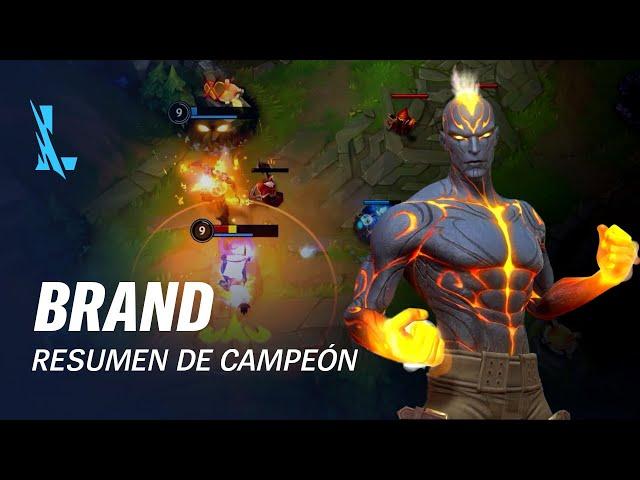 Resumen de Brand | Jugabilidad - League of Legends: Wild Rift