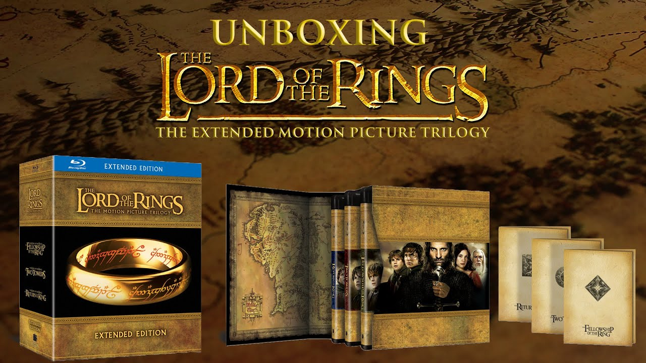Lord Of The Rings Trilogy Box Set Extended Edition