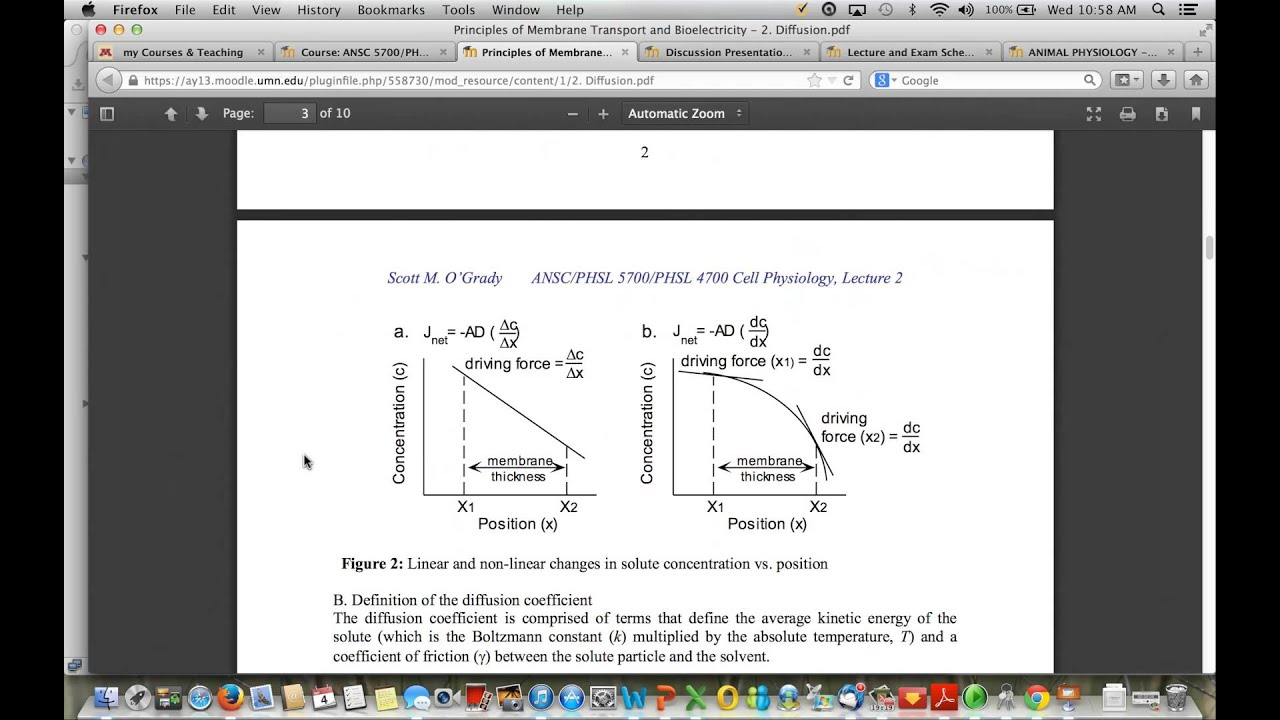 Cell Physiology - Introduction - YouTube