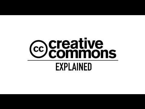 Creative Commons licenses - A short explanation