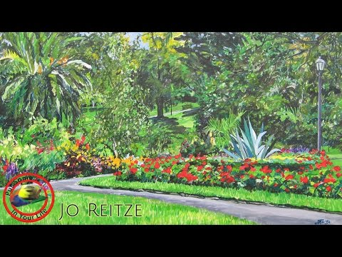 Fine art tips on How to Paint Using Gouache with Jo Reitze on Colour In your Life