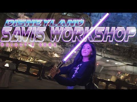 building-a-custom-lightsaber-at-disneyland-was-awesome!-savi's-workshop