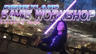 Building A Custom Lightsaber At Disneyland was Awesome! Savi's Workshop