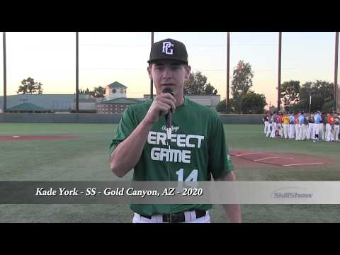 Kade York - SS - Gold Canyon, AZ - 2020