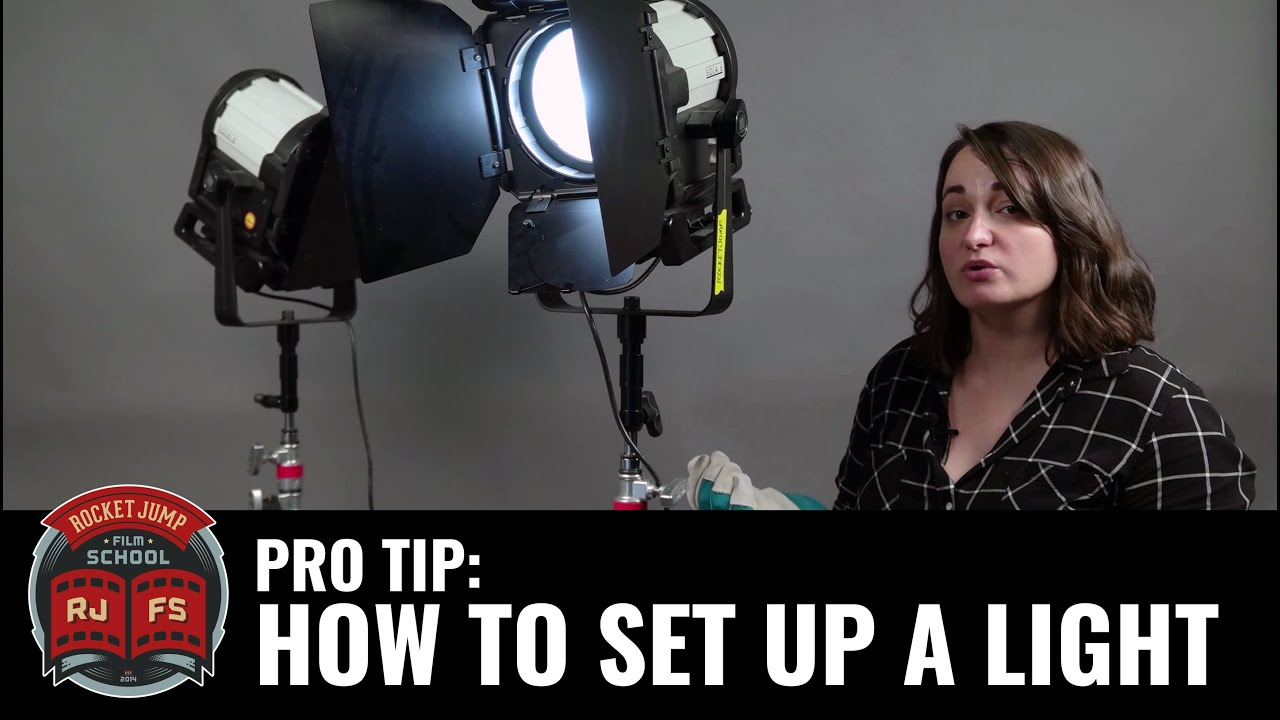 PRO TIP: How To Set Up A Light