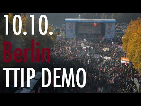 250.000 in Berlin! Nein zu TTIP & CETA in Berlin, 10.10.2015