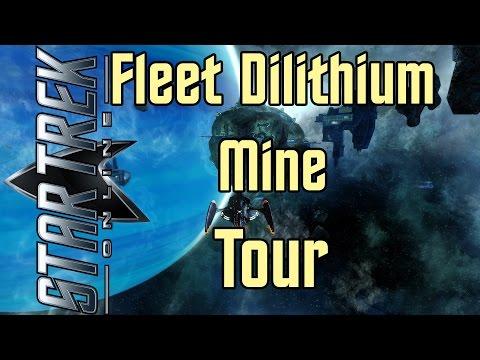 Star Trek Online - Fleet Dilithium Mine Tour