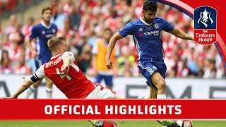 Arsenal 2-1 Chelsea - Emirates FA Cup Final 201617  Official Highlights