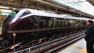 E655系「なごみ」団体列車 東京駅発車