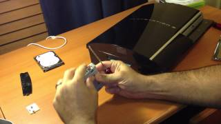 How to Install a Bigger Hard Drive to a PS3 Fat