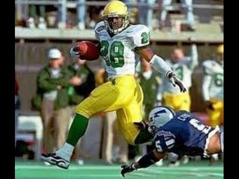 1997 Las Vegas Bowl  Oregon (6-5) vs. Air Force (10-2) 1st half