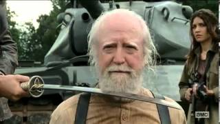 La muerte de Hershel-The Walking Dead